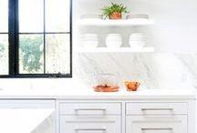 Kitchen / Sunny, beautiful, and inspiring kitchen interiors  http:///www.mintandvarnish.com