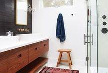 Bathroom / Clean, beautiful, and inspiring bathroom interiors  http:///www.mintandvarnish.com