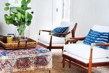 Living Room / Beautiful and inspiring living room interiors I love  http:///www.mintandvarnish.com