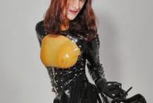 Erika Ridley / Latex High Heels Fetish Tranny Model