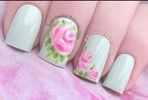 Nail Art Pastel Colour