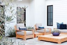 Porch / Outdoor patios, porches, decks, and balconies http://www.mintandvarnish.com