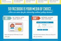 Social media world . / Tips