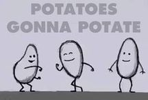 The Potato Fandom / Welcome to the Potato Fandom!  Just ask if you'd like to be invited! :3 #SweetPotatoSunday #MashedPotatoMonday #TatertotTuesday #WholePotatoWednesday #TripleBakedThursday #FrenchFryFriday #StuffedPotatoSaturday / by Catie Cerrato