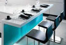 Kitchens in Blue