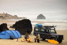 車とキャンプ / Cars and camping
