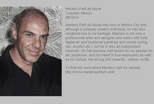 Mariano Petit de Murat 1961-2015 / Artista plástico y digital.  Mi hermano te voy a echar en falta