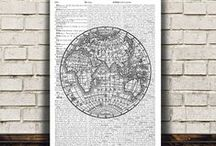 world map poster / world map posters to live on your wall