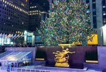 Christmas & Winter in New York ❄ / New York City zu seiner wohl schönsten Jahreszeit - Weihnachten! Am liebsten mit viel Schnee! ☃❄️