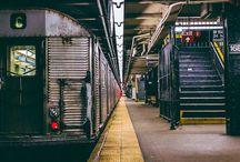 Subway New York  / Taucht ein in den Untergrund von New York City!