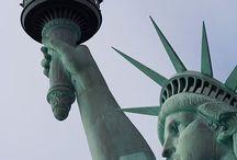 Statue of Liberty a.k.a. Lady Liberty!  / DAS Wahrzeichen von New York City und Symbol für Freiheit und Hoffnung. Die wunderschöne Freiheitsstatue...
