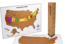 USA Scratch off Map / Scratch off map of the USA