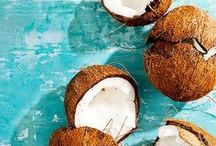 Nuts for Coconuts / The perfect snack in paradise #coconuts! We're going nuts. Get all your coconut recipe, DIY items, and information right here.