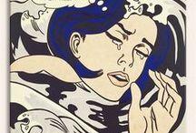 pop art / pop art sanatçılarına ait tablolardan oluşan bir koleksiyon