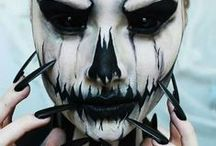 Scary Halloween Face Paint / Find inspiration for your Halloween and Horror face paint designs. To purchase our Halloween Face Painting Kit Follow this link: http://bit.ly/T4GC15
