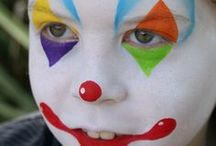 Face Painting: White Designs / Got spare white face paint you're not sure what to do with? Take a look at these designs for inspiration!  You can see more of our classic colours here: http://bit.ly/VNAfxn