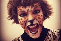 Wild Animals / Find inspiration for your animal face paint designs.   You can find our Wild Faces Kit here: http://bit.ly/T4LwLz