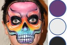Face Painting Pro Designs / See what the pros have to offer and find inspiration to improve your face painting skills!  You can find our Professional Kit here: http://bit.ly/ZfT6ZX
