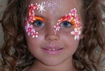 Flower Power / Find inspiration for your Flower Party!  You can find our Face Painting Sticks here: http://bit.ly/V2nWfZ