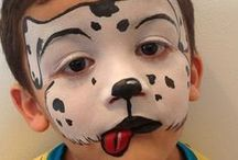 Boy's Face Paint Ideas / Find inspiration for your Boys' Party!  You can find our Boy's Face Painting Kit here: http://bit.ly/Ua7Qp0