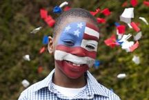 Supporters Face Paint / Support your country with a fantastic face design!  Check out our Supporters Face Painting Kit here: http://goo.gl/WiXYSc