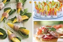 Wedding Food, Snacks & Drinks / From mini appetizers to elegant table side service