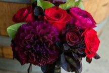 Wedding Flowers / Wedding bouquets, flower table center pieces, boutonnieres and floral decor