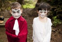 Kids Halloween Face Paint / Create fun and scary faces with Snazaroo! http://www.snazaroo.co.uk/