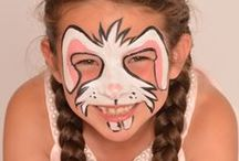 Easter Face Painting / Celebrate Easter with a face painting session!  http://www.snazaroo.co.uk/