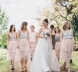 White - My Weddingboard / Meine Hochzeitsinspiration für eine junge und frische Hochzeit im Mai 2017. Viele Pastellfarben und ein Traumkleid von Anna Kara