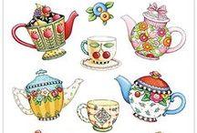 tea time & bowls