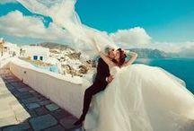 {Wedding: Destination} / A board dedicated to those planning a destination wedding. Locations, ideas, welcome bags and outdoor decor! Beach weddings, Greek island weddings!