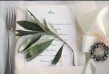 {Wedding: Art de la table} / Ideas and how-tos to set up the perfect wedding table! Art de la table!