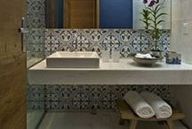 Bathrooms / Stylish bathrooms that serve both looks and functionality!