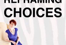 Reframing choices