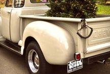 Mes voitures préférés / voituers / pick up  vintage, retro