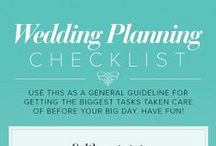 Wedding Planning Tips & Help / Lists, tips and need to know advice to help make the wedding planning easier
