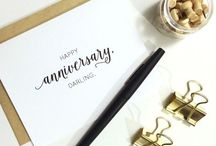 Anniversaries / Great ideas for anniversary gifts and celebrations!