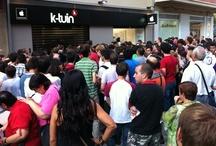 Inauguración de K-tuin Pamplona  / 16 de septiembre del 2011, inauguramos nuestra nueva tienda en Pamplona (Calle García Ximénez 8)