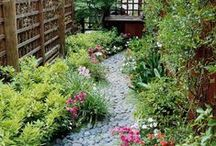 Puutarha -Garden / Ideas for garden and beautiful scenes