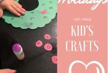 Crafts for kids & fun / All things kids and learning! Alphabet, crafts, numbers and fun activities!