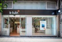 #K-tuin #Santander / En #Santander, y situada en la calle Juan de Herrera, en pleno centro de la ciudad, encontrarás la tienda #Apple #K-Tuin con el equipo más #profesional y que más conoce todo lo relacionado con todos los productos #Apple.
