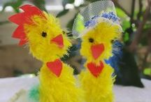 Easter and spring / Easter and spring decoration ideas and crafts