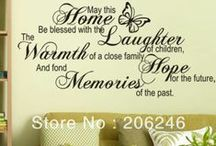 Homeblessing and organizing / Details that bless your home and brightens your life