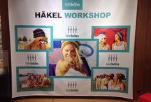 häkelhelden bei der Arbeit / Workshops und Events