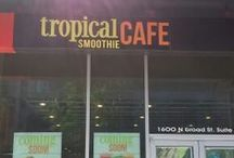 Tropical Smoothie Cafe Philadelphia North Broad / Design, Planning and Construction of new Tropical Smoothie Cafe