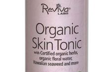 Reviva Labs Facial Toners / For use after cleansers to ensure the skin returns to the proper acid (PH) balance. Toners also aid in removing any remaining dirt or cleanser not rinsed off while also helping to freshen skin tone and improving skin clarity.