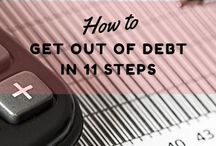 Budgeting / Get your personal finances under control! Learn how to save more money | debt free ideas | debt tips |  debt payoff strategies | how to get out of debt ideas | personal finance | get out of debt | budget template | make a budget