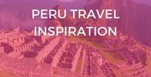 Peru Travel Inspiration / Learn about where to go in Peru, things to do, travel tips, packing lists, bucket list destinations in Peru, adventure travel, hiking to Machu Picchu, the Sacred Valley, Cusco, Arequipa, Colca Canyon, off-the-beaten-path, mountains, backpacking, wildlife tours, national parks, jungle tours, the Inca trail, travel guides to Peru, beautiful places, tips, Peru travel itinerary, the Salkantay trek, Lima, Cusco, Arequipa.