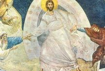 Ascension of Christ / Forty days after the resurrection Jesus ascended to His Father in heaven.